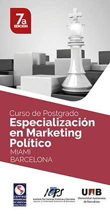 Curso de Postgrado: Especialización en Marketing Político